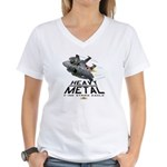 F-15E Strike Eagle Women's V-Neck T-Shirt