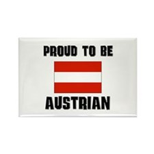 Proud To Be AUSTRIAN Rectangle Magnet