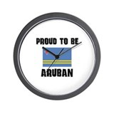 Proud To Be ARUBAN Wall Clock