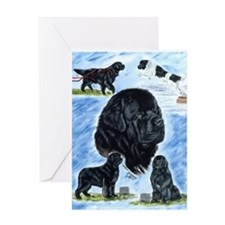 Newfoundland Versatility Greeting Card