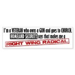 Radical Bumper Sticker (50 pk)