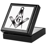 The Free Mason Keepsake Box