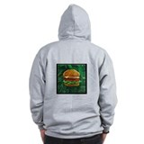 Tropical Cheeseburger Zip Hoodie