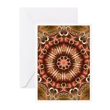 Crimson Lotus Greetings Cards (Pk of 10)
