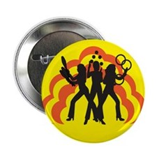 "Juggle Angels (yellow) 2.25"" Button (100 pack)"