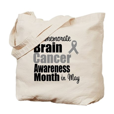 Brain Cancer - May Tote Bag