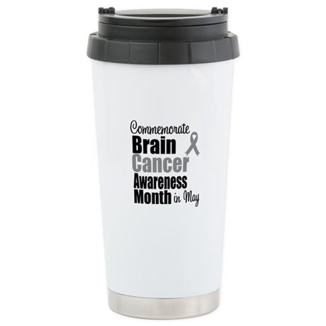 Brain Cancer - May Ceramic Travel Mug