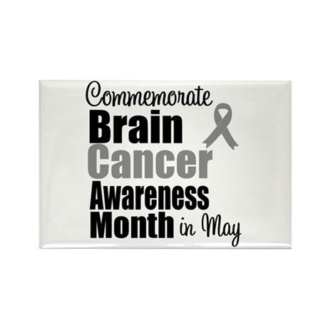 Brain Cancer - May Rectangle Magnet