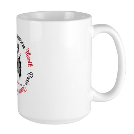 Brain Tumor Month Large Mug