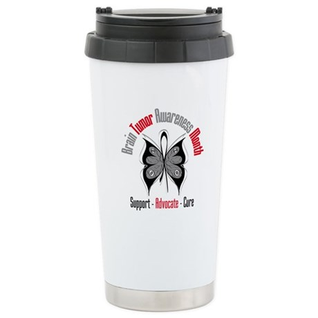 Brain Tumor Month Ceramic Travel Mug