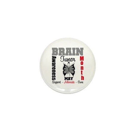 BrainTumorAwareness Mini Button (10 pack)