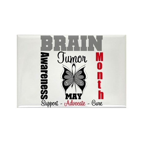 BrainTumorAwareness Rectangle Magnet