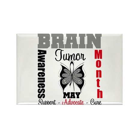 BrainTumorAwareness Rectangle Magnet (100 pack)