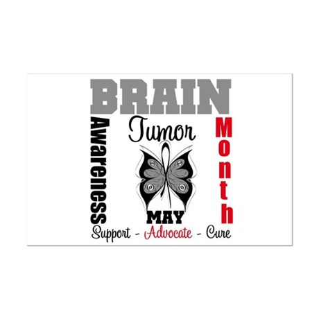 BrainTumorAwareness Mini Poster Print