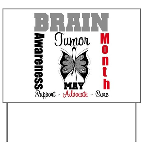 BrainTumorAwareness Yard Sign