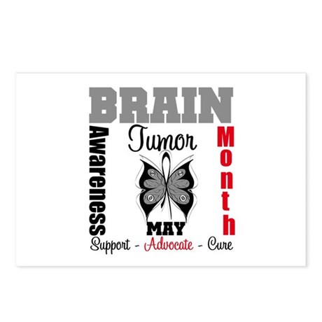 BrainTumorAwareness Postcards (Package of 8)