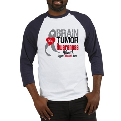 Brain Tumor Month Baseball Jersey