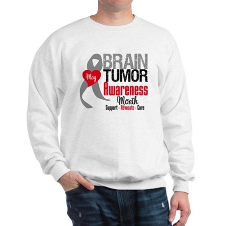 Brain Tumor Month Sweatshirt