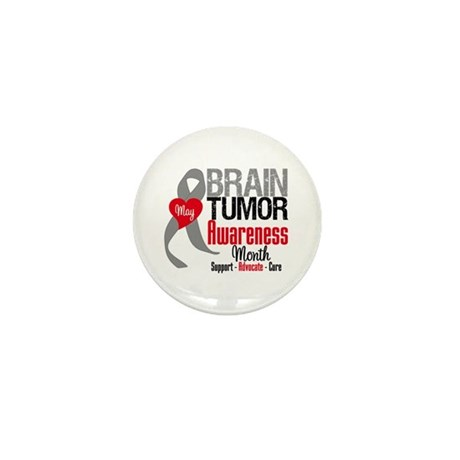 Brain Tumor Month Mini Button (10 pack)