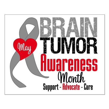 Brain Tumor Month Small Poster