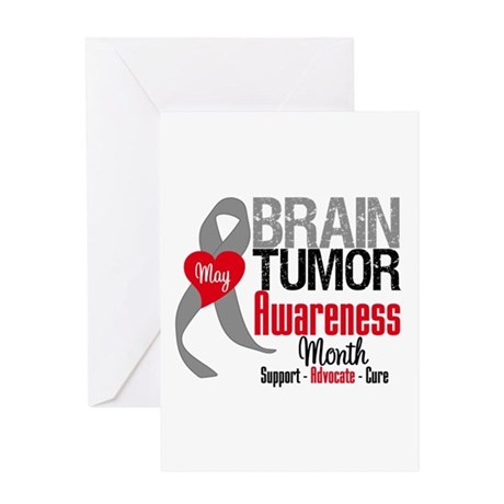 Brain Tumor Month Greeting Card