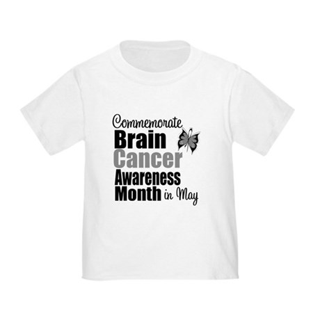 Brain Cancer - May Toddler T-Shirt