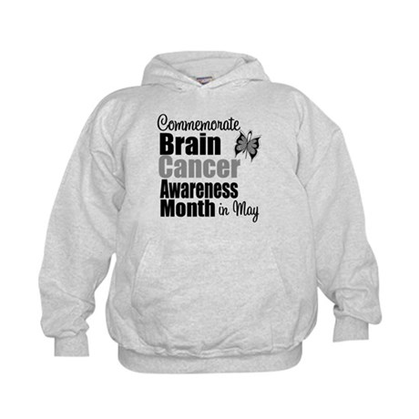 Brain Cancer - May Kids Hoodie