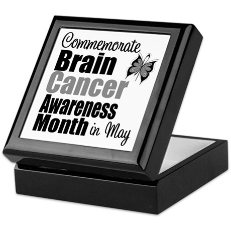 Brain Cancer - May Keepsake Box