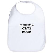 BURMILLA CATS ROCK Bib