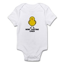 Wine Tasting Chick Infant Bodysuit