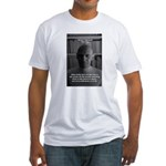 Social Criticism: Foucault Fitted T-Shirt