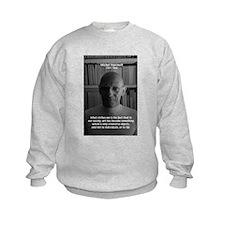 Social Criticism: Foucault Kids Sweatshirt