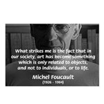 Social Criticism: Foucault Postcards (Package of 8