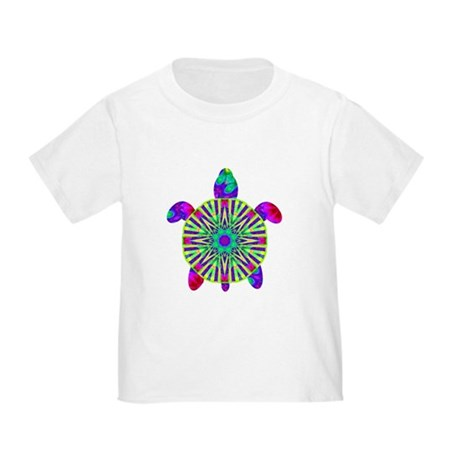 Colorful Sea Turtle Toddler T-Shirt