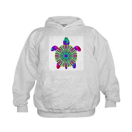 Colorful Sea Turtle Kids Hoodie