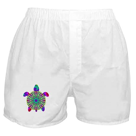 Colorful Sea Turtle Boxer Shorts