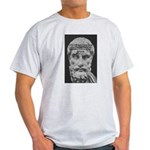 Epicurus Self Control Ash Grey T-Shirt