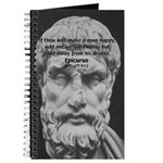 Epicurus Self Control Journal