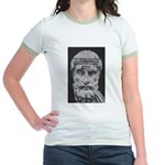 Epicurus Self Control Jr. Ringer T-Shirt