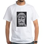 Epicurus Self Control White T-Shirt