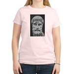 Epicurus Self Control Women's Pink T-Shirt