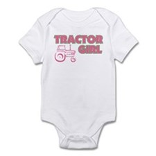 Tractor Girl Infant Bodysuit
