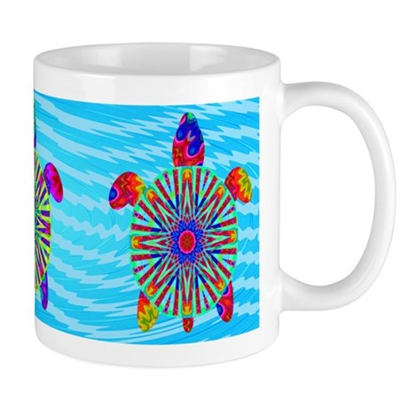 Colorful Sea Turtle Mug