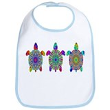 Colorful Sea Turtle Bib