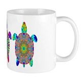 Colorful Sea Turtle Small Mugs