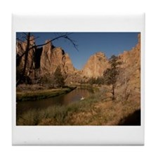 Smith Rock State Park Tile Coaster