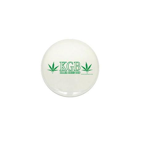 KGB - Killer Green Bud Mini Button (100 pack)