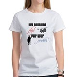 Husband flys for your freedom. Tee