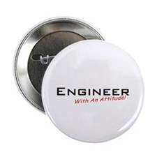 "Engineer / Attitude 2.25"" Button (10 pack)"