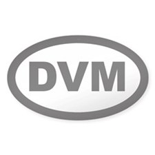 DVM Car Oval Decal